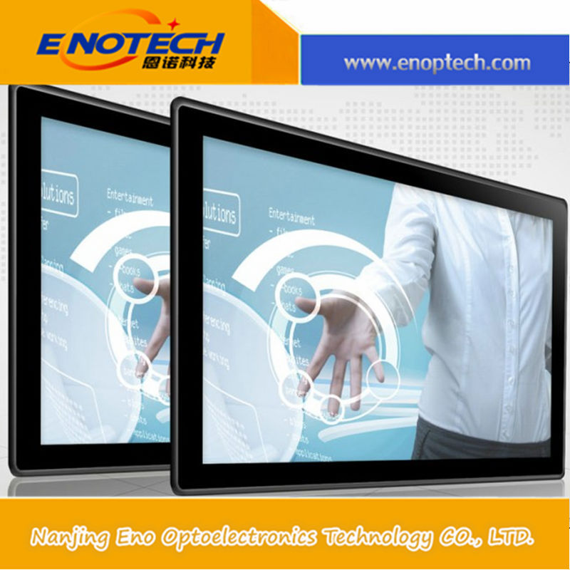 Advertising equipment of IR multitouch floor stand touch monitor with usb flash driver