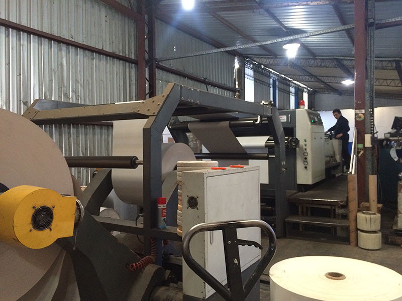 KS-1400A Automatic Roll Paper Sheeter Cutter machine