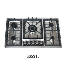 GS5S15 Factory Cast iron pan support home kitchen appliance industrial burner parts gas stove