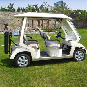 6 seater electric golf car