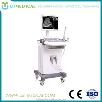 Hospital Pregnancy 2d Trolley Ultrasound Machine