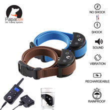 Amazon best seller 1500ft range remote sport training bark control shock collar for two dogs waterproof medium small dogs