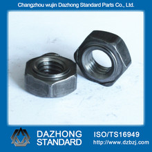 Hexagon head weld nut zinc plated nuts white zinc finished