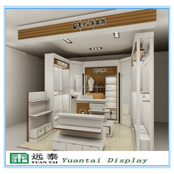 High quality retail clothing shop showroom cloth display furniture