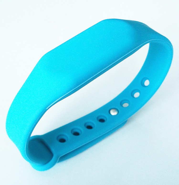 125khz EM Rubber Bracelets For Access Control Security Systems