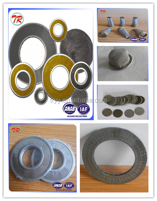 China Factory Small Round Metal Disc Filter Disc