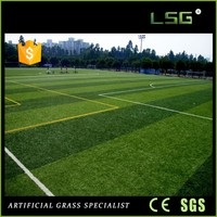 Popular Plastic Lawn Srtificial Grass For Soccer Pitch