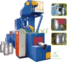 Shot Blast Machines for Liquid and Compressed Gas Bottles