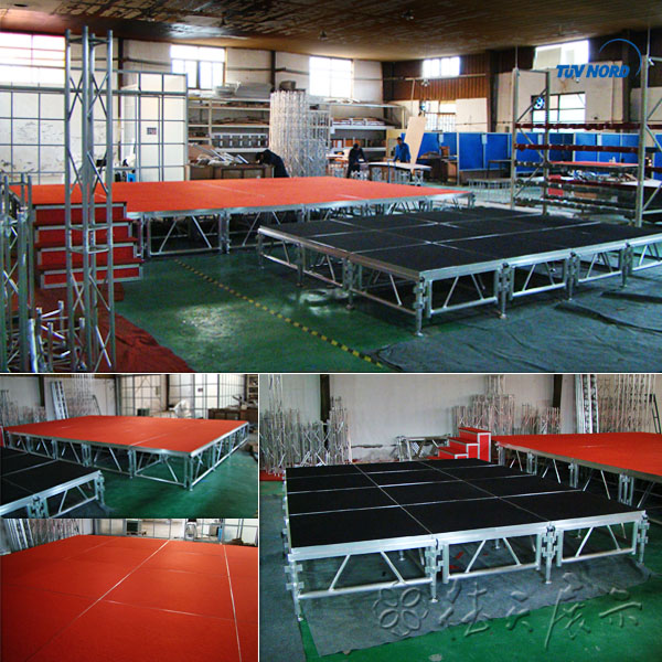 good quality circle stage light truss event roof lighting truss trade show truss system