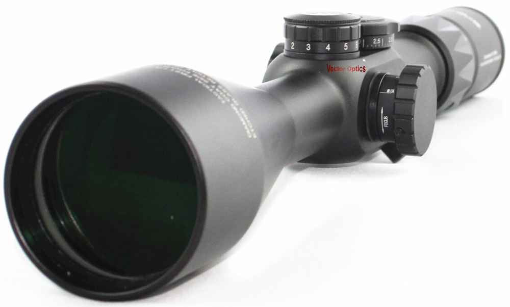 Vector Optics 6-25x56 Counterpunch First Focal Plane Tactical High Quality Low Profile Rifle Scope