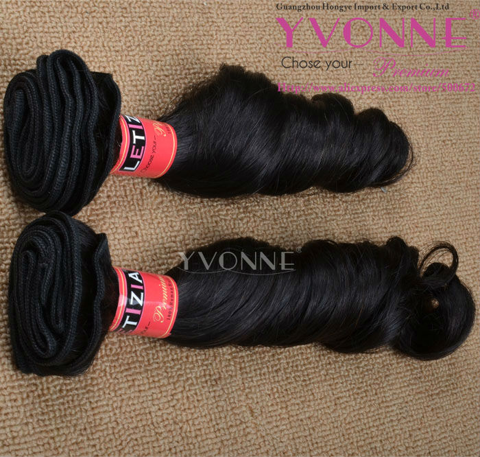 natural brazilian weave hair style for black women