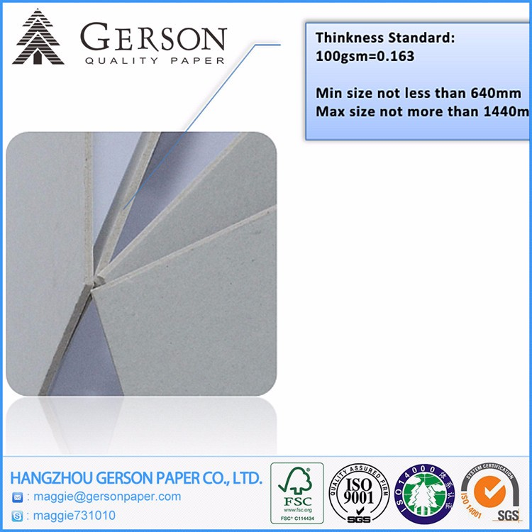 Best Sales Grey Board Chipboard