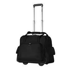 wholesale durable duffel travel trolley luggage bag with wheels