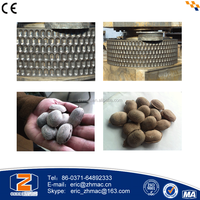 1-50 t/h mineral powder henan zhengzhou brown coal ball press machine