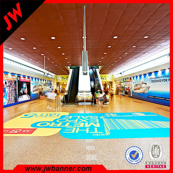 Full color printing vinyl decal floor sticker