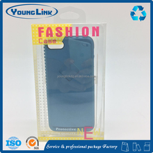 Printing clear plastic cell phone case packaging box