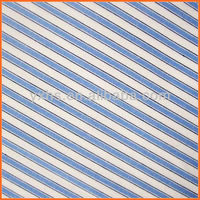 100% cotton yarn dyed navy and white stripe fabrics