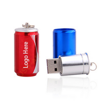 Cola Can 8gb usb flash drive bulk, creative gift metal usb flash drive