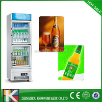 shop use commercial showcase refrigerator for sale