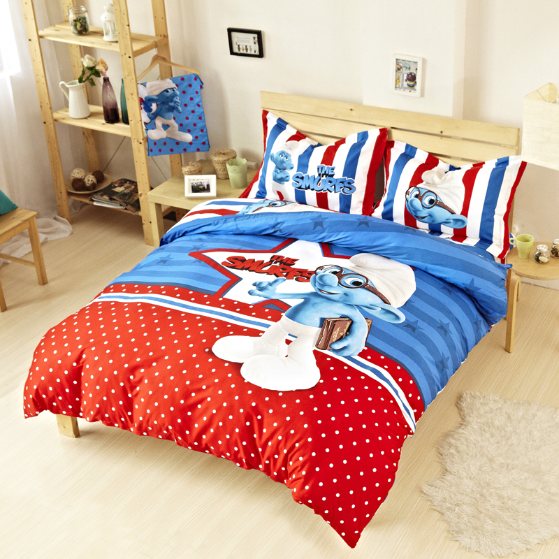 bed in a bag sets kids cartoon 100% cotton fabric duvet cover wholesale