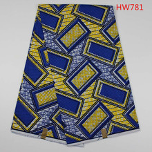 Nice African Wholesale China Wax Prints fabric Real Wax Print 100% Cotton with Geometric Patterns
