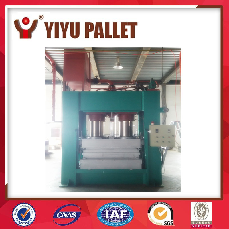 machine for making the wood pallet, wood pallet notching machine, wood pallet press machine