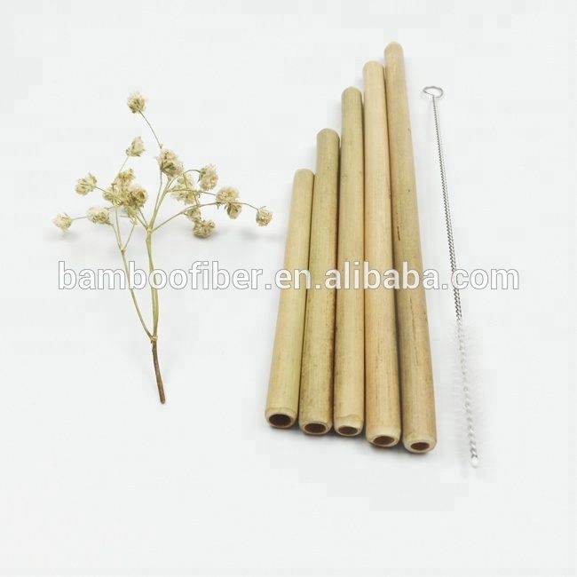 MBF Pure <strong>Natural</strong> Bamboo Drinking Straws With Customized Logo