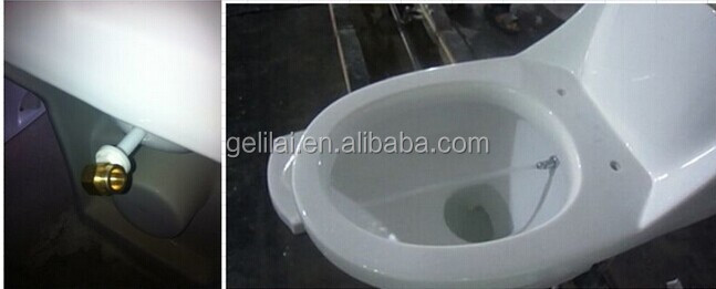 Chinese ceramic Washdown one piece toilet bowl for sanitaryware bathroom