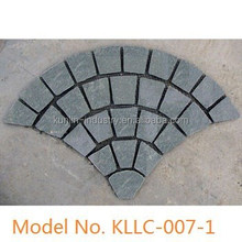 Decorative mat slate paving stone patterns
