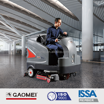 GM230 self-propelled good price floor scrubber/ground cleaning machine