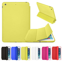 New Luxury Slim Stand Smart Case Leather Back Cover For Apple iPad mini