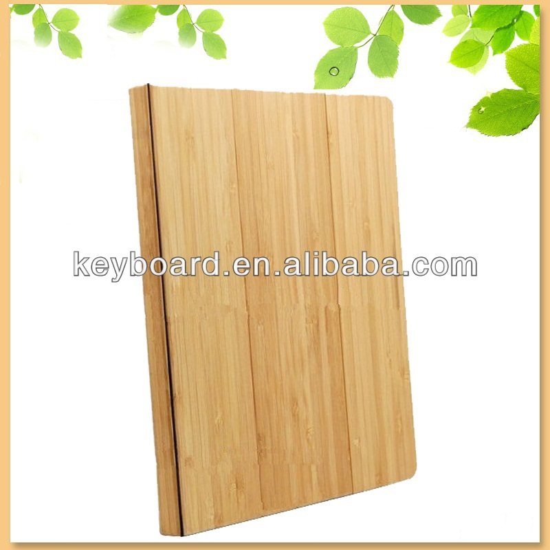 ebay hot selling tablet cover case for i pad air wooden case