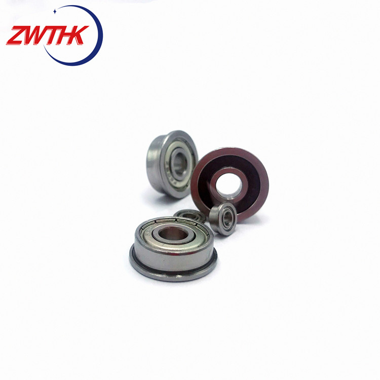 Small size stainless steel bearings F686ZZ flange micro ball Bearing