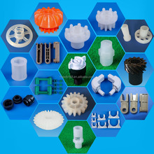 ISO manufacturer precision molding injection plastic spare parts for PCB used machine