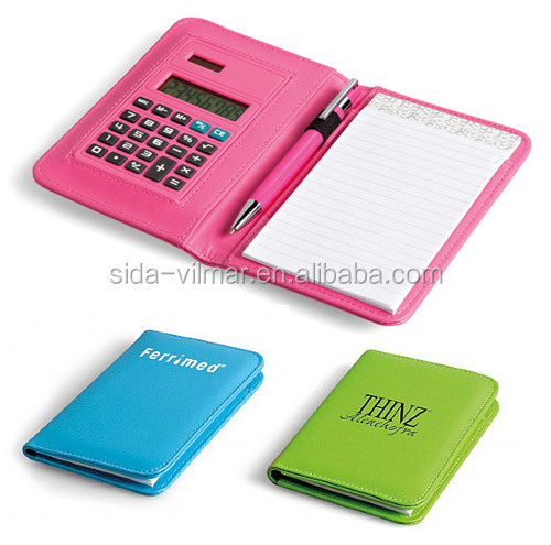 Multifunctional Calculator With Ball Pen Notepad