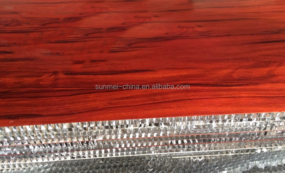 OEM wood texture aluminum composite panel