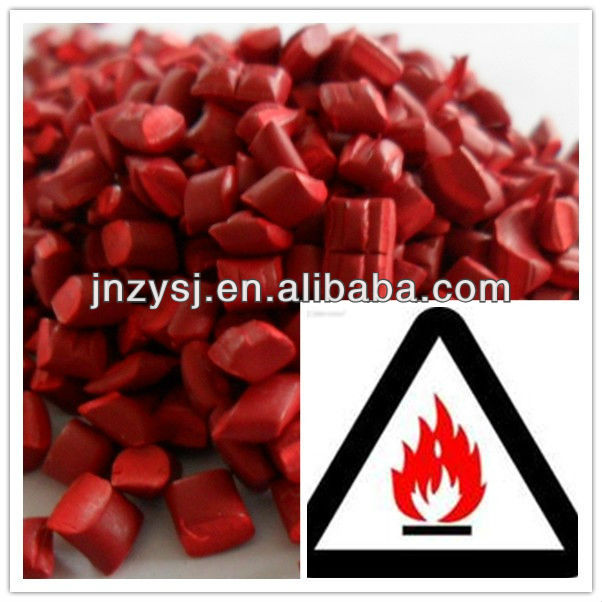 Electric cable coat insulation/anti fire net/fabric 1250 mesh red phosphorus clothing antifire masterbatch