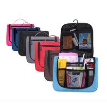Hot Sale Cheap Travel Toiletry Waterproof hanging foldable cosmetic bag