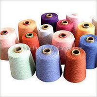 2015 cotton Gassed Mercerized yarns