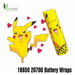 Factory wholesale vape 18650 battery wraps with high quality