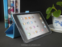 Hot new products 2014,tablet case for apple iPad air 2 with transparent TPU cover ,smart case for iPad air
