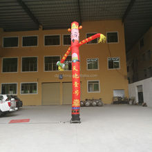 5m advertising inflatable air dancer for holiday