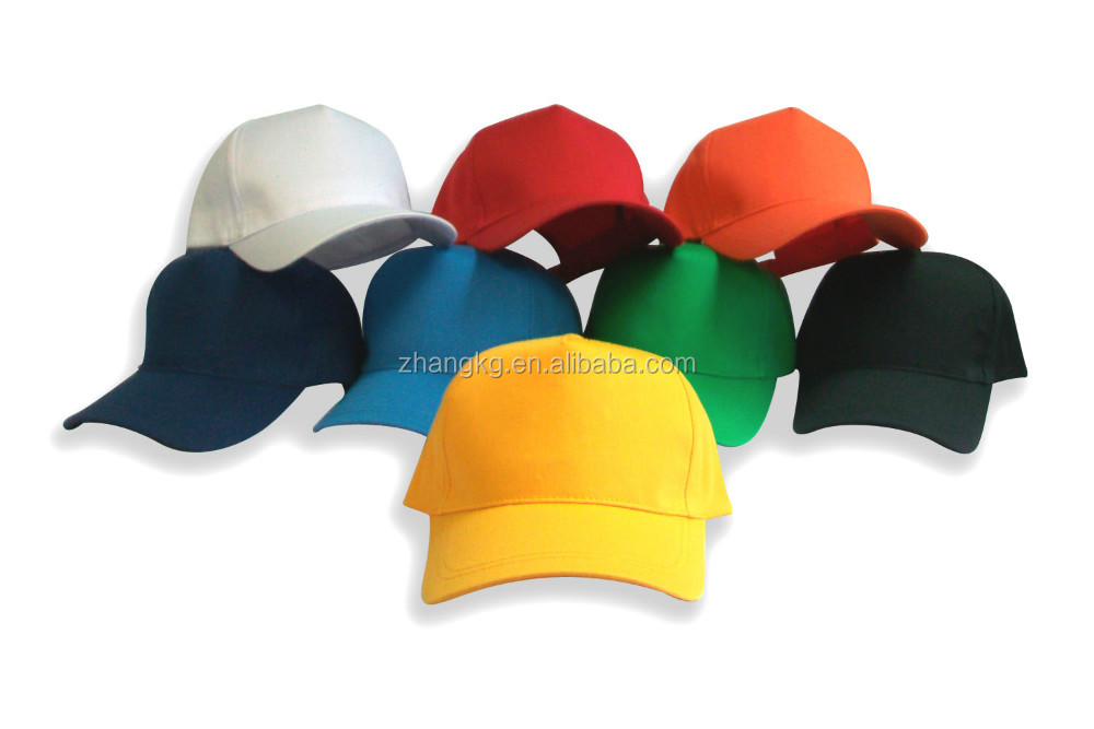 new coming baseball caps, all kinds of plain dyed baseball caps bulk