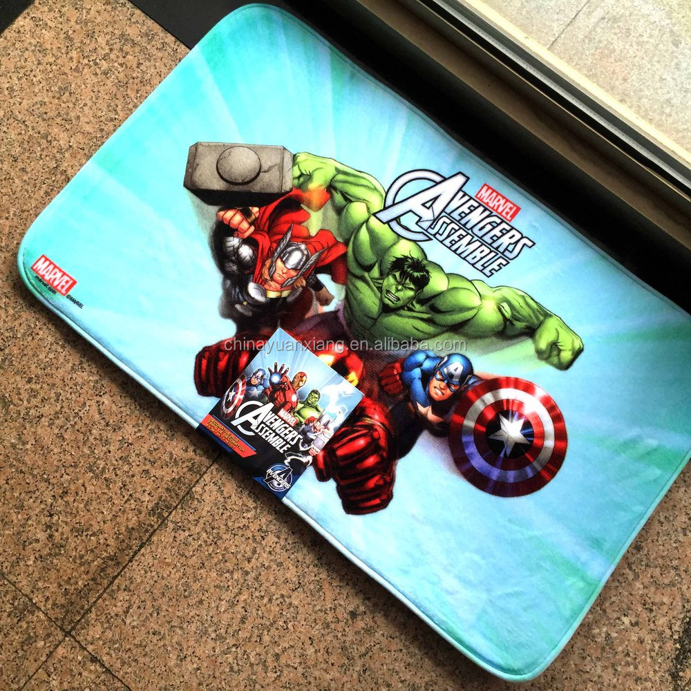 Dye Sublimation Printed Kids Door Mat Disney Fama Audited
