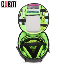 BUBM Portable Headphone Carrying Case/Bag headphone case with zipper enclosure
