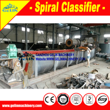 Mineral process ore desliming wet sand classifier