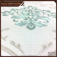 Various beautiful patterns PVC papel de parede for sale