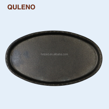 QULENO cast iron frying pan <strong>plate</strong> fry pan