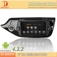 "8""CEED 2014 pure android 4.2.2 car DVD GPS with WIFI/3G"