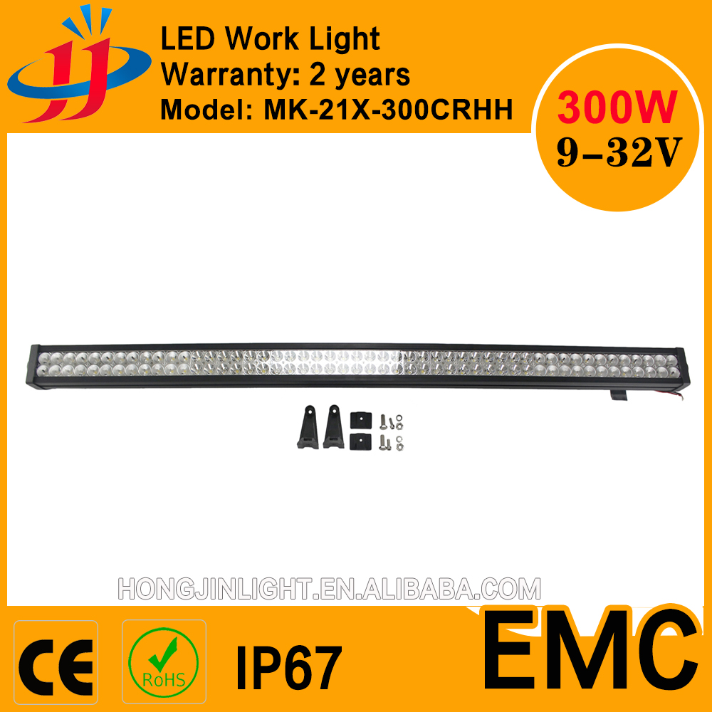 "Super quality waterproof 50"" 300w led light bar auto led driving light bar Suv/Jeep/Utv"